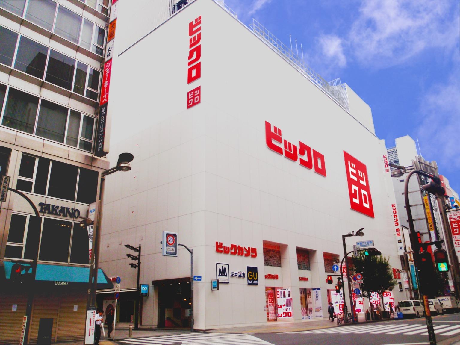 BICQLO BIC CAMERA新宿東口店