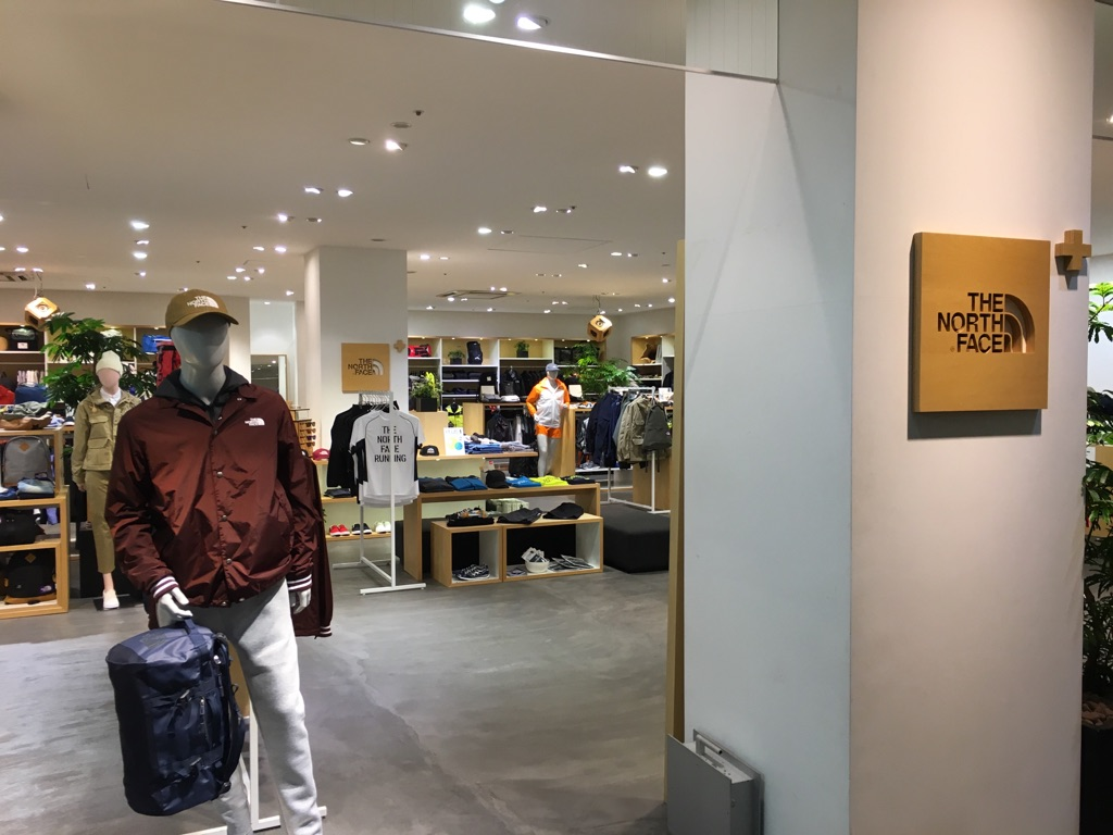 THE NORTH FACE CRED冈山店