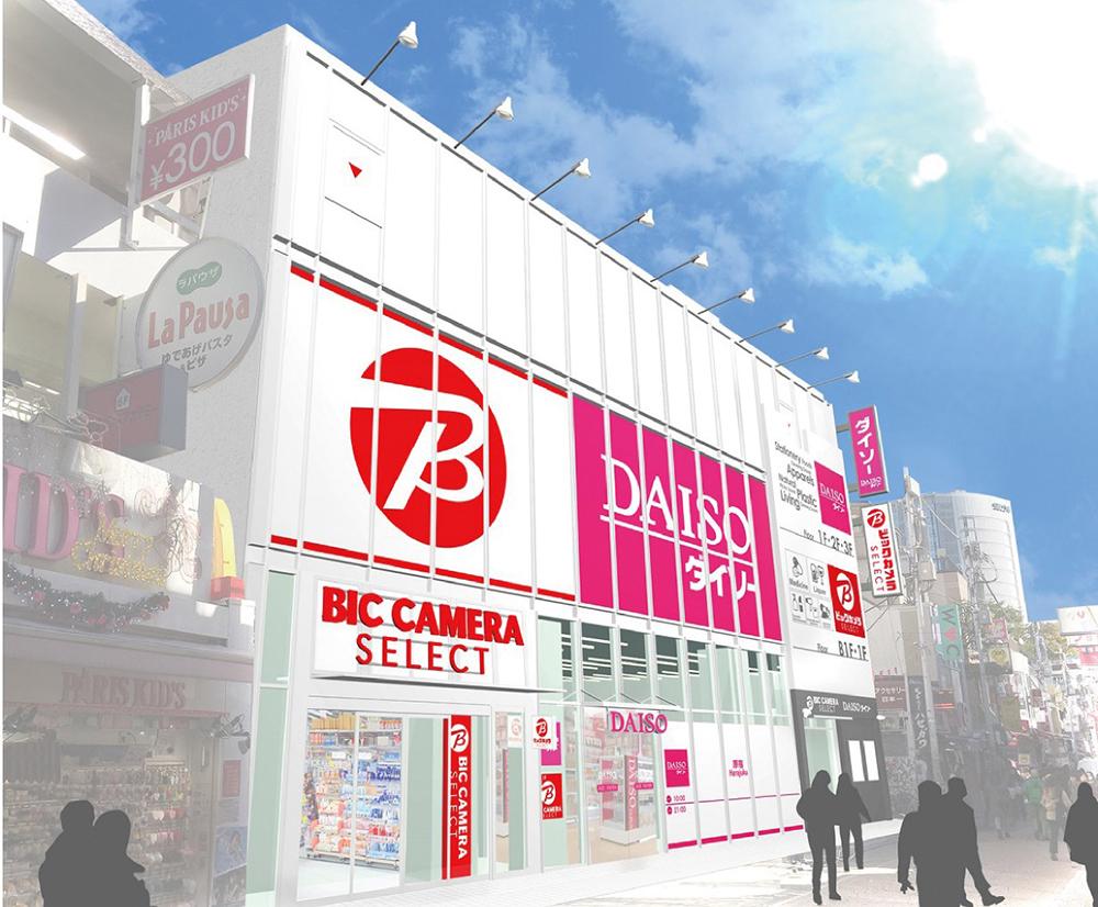 BicCamera Select Harajujku Store